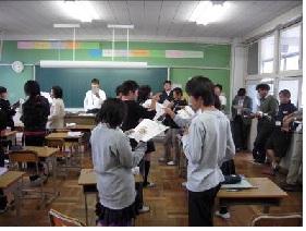 11月7日(月)吹田市立第二中学...