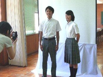 交野高等学校制服画像