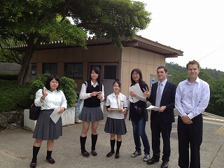岬高等学校制服画像