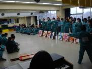 中学部卒業生を送る会1.JPG