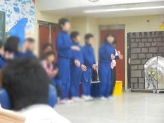 卒業生を送る会1