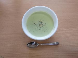 エダマメの冷製スープ