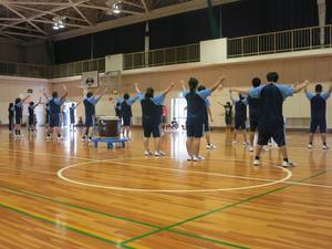 体育祭の応援団練習報告