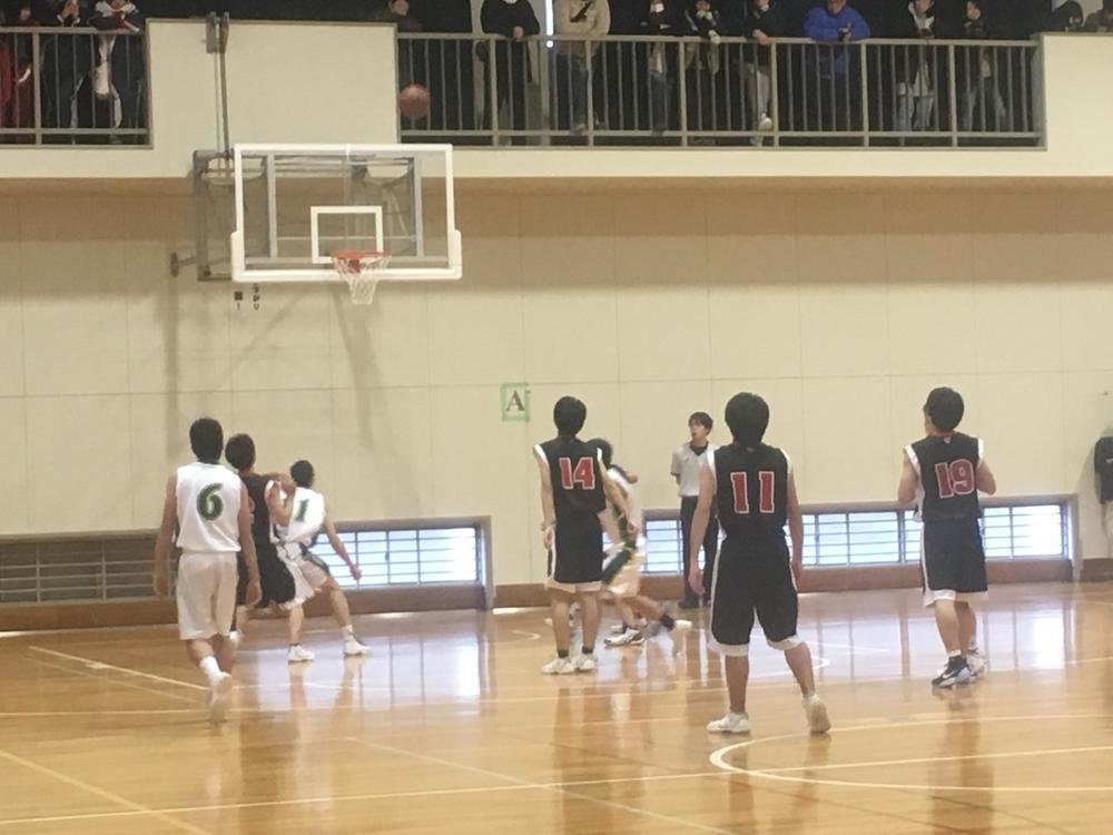 男女バスケットボール部のフリースロー