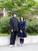 山本高等学校制服画像